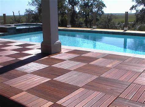 Patio Deck Flooring Options Ipe Tiles Ipe Deck Tiles Decking Tiles