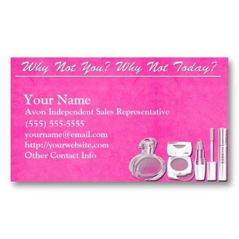 20 Best Order Avon Business Cards Images On Pinterest Avon Business Card Design Templates And Avon Business Card Template