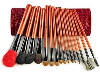 Implora Deluxe Professional Make Up Collection the top quality professional make up brush collection deluxe marten hair brush set with 16