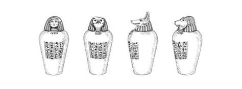 vasi egiziani antichi 4 tutte le anime della mummia per i piu piccoli 4