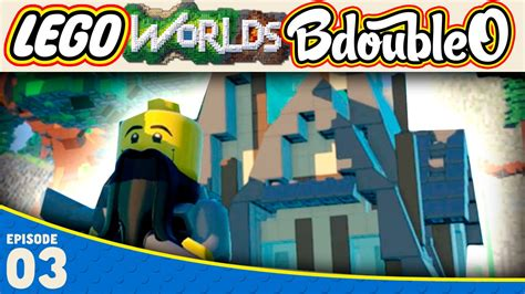tutorial lego worlds lego worlds easy awesome house tutorial part 3