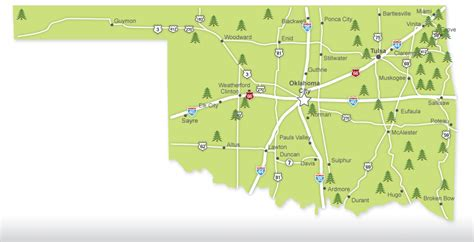 state parks cing map some oklahoma state parks may rv tip of the day
