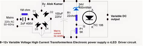 led power supply circuit diagram 12vdc to 120vac inverter schematic 12vdc free engine