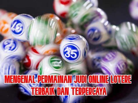 lotere situs game judi slot  agen terbaik  terpercaya