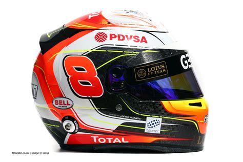 Kaos F1 Grosjean grosjean 2015 f1 helmet 183 f1 fanatic