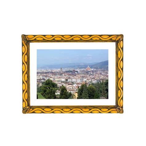 cornice decorata cornice decorata giallo acceso cornici maselli
