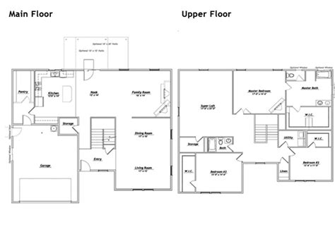hubble homes floor plan details dream house pinterest