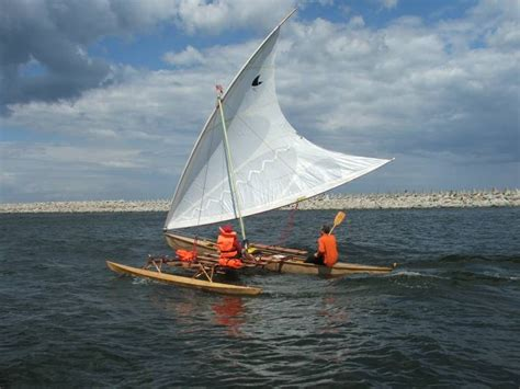 canoe boat sailing outrigger sailing canoes the proa pjoa