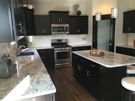 soft close kitchen cabinets dark espresso shaker kitchen cabinets w soft close by