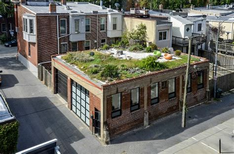 livi aprtments green roof logan circle s garage turned home hits rental market