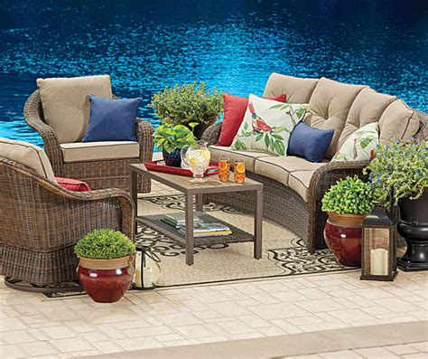 patio patio furniture sets cheap black and cream