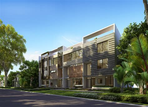 design house associates miami new town townhouses approved for coral gables with new
