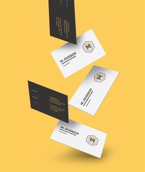 business card mockup display smart template 04 free falling business cards mockup graphicsfuel