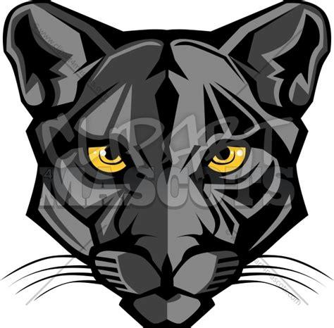 Panther Mascot Logo Graphic Vector Logo