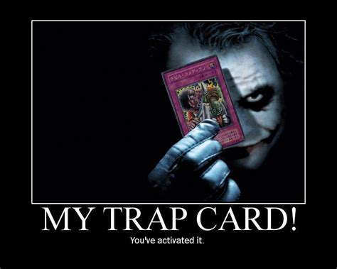 trap card meme template image 63511 you just activated my trap card