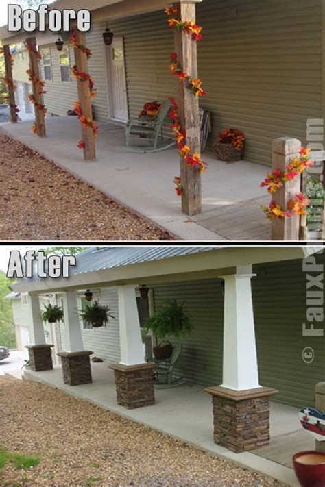 home columns decorative column wraps exterior home design pictures