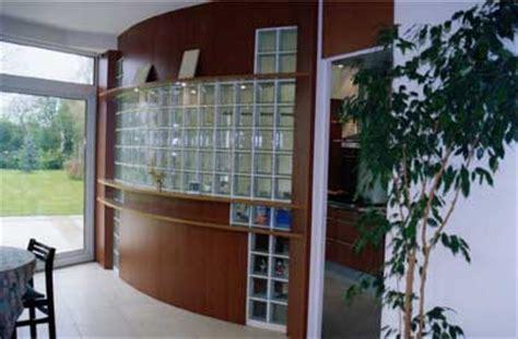 Glass Block Room Divider Glass Blocks Versatile Beautiful