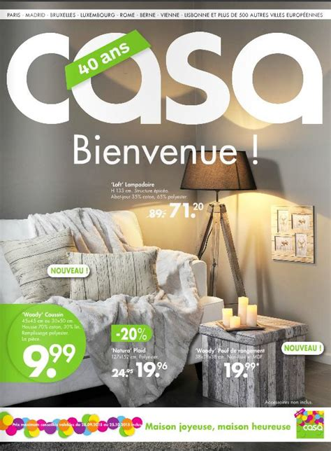casa catalogo magasin casa fr catalogue