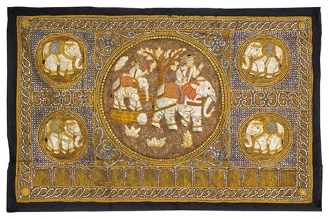 asian tapestry furniture large burmese elephant tapestry wall