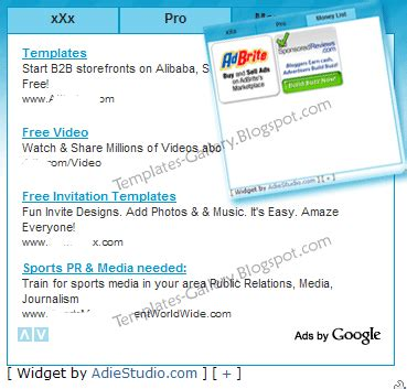 blogger themes with tabs blogger template how to make tab view blogger