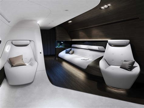 trends luxury private jet interiors