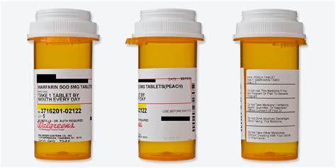 Prescription Labels And Drug Safety Consumer Reports Medicine Bottle Label Template