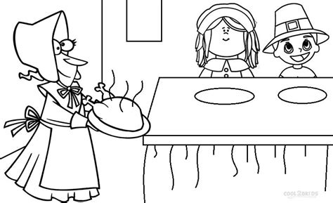 pilgrim family coloring page printable pilgrims coloring pages for kids cool2bkids