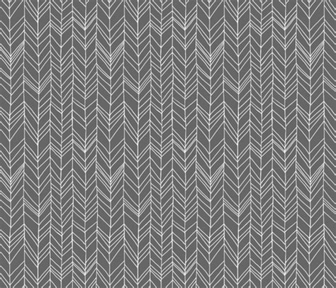 grey pattern material featherland gray white fabric leanne spoonflower
