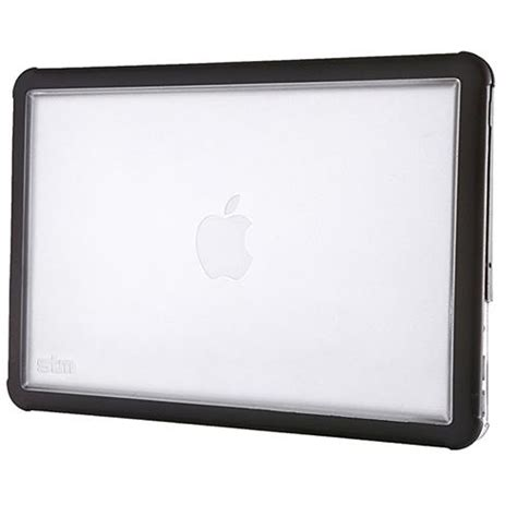 macbook pro rugged stm dux rugged protective cover for macbook air 11 quot inch black clear eoutlet co uk