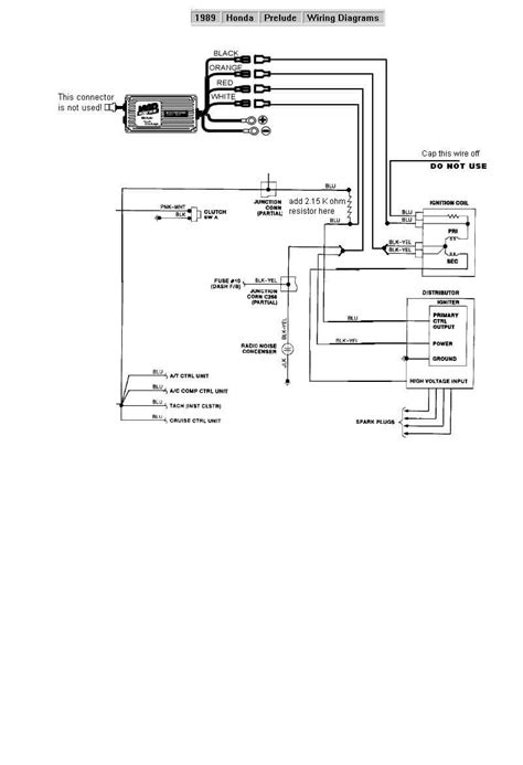 1989 honda prelude wiring diagram wiring diagram with