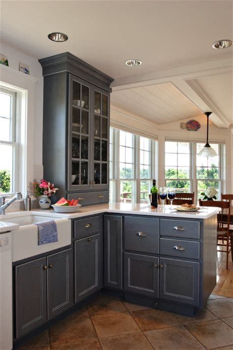 Cape Cod Home Renovation Traditional Kitchen Boston Cape Cod House Kitchen Plans