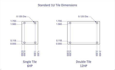 1u Rack Dimensions Standard by 1u Tiles Pulp Logic