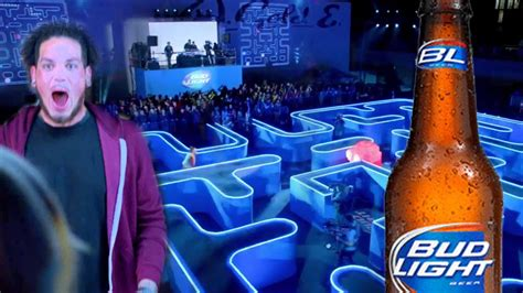 bud light zombie commercial bud light super bowl xlix commercial real life packman