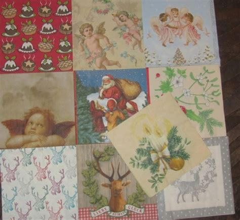Serviette Decoupage On Wood - 100 paper napkins for decoupage theme