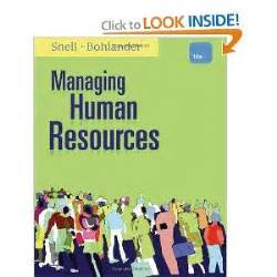 managing human resources books managing human resources book i college