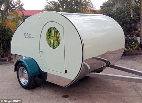 Gidget Teardrop Trailer by Gidget Is The World S Smallest Caravan That Is Fully