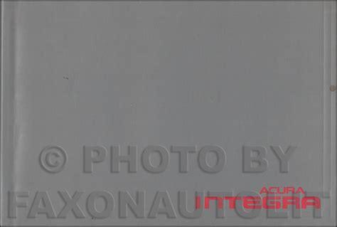 1996 acura integra repair shop manual original 1996 acura integra repair shop manual original