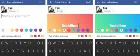 membuat status facebook warna warni cara membuat status facebook dengan background warna warni