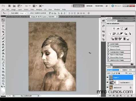 tutorial photoshop cs5 efeitos photoshop cs5 tutorial efeito foto antiga youtube