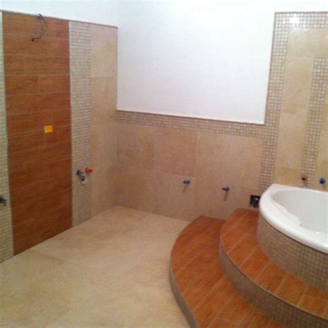 bagno con vasca incassata bagni