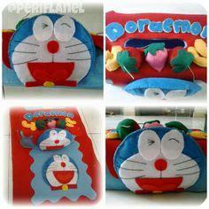 Tudung Saji Doraemon kitchen set flanel yang bikin dapur cantik mila felt lover