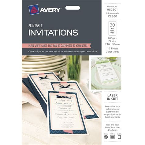 avery invitation template best photos of avery invitation templates