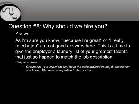 why should we hire you essay sle why should we hire you essay sle 28 images why should