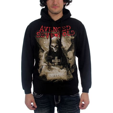 Jaket Sweater Avenged Sevenfold Avenged Sevenfold Forever Pullover Hoodie Mens Hoodie In