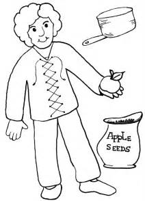 clip art of johnny appleseed clipart best