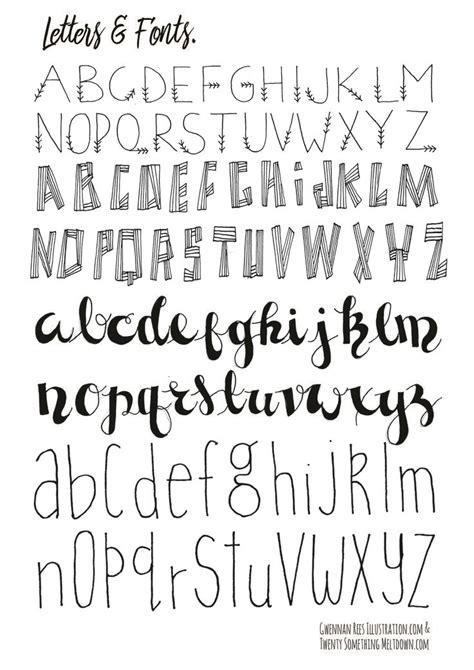 printable calligraphy fonts best 25 journal fonts ideas on pinterest handwriting