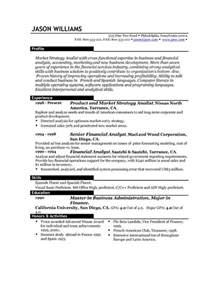 The Best Resume Layout Sample Resume 85 Free Sample Resumes By Easyjob Sample