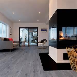 Fliesenboden Modern Wohnzimmer 17 Meilleures Id 233 Es 224 Propos De Parquet Gris Sur Pinterest
