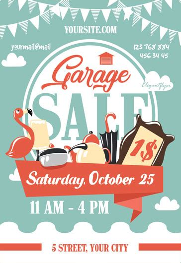 Tag Sale Flyer Template