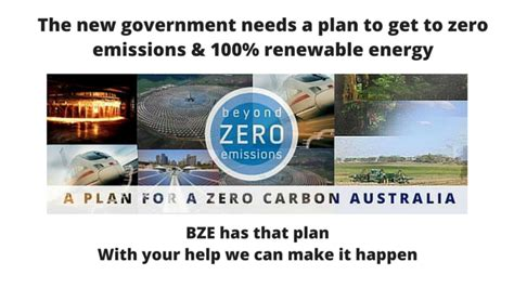 New Carbon Labels Planned By Government by The Zero Carbon Australia Plan Beyond Zero Emissions